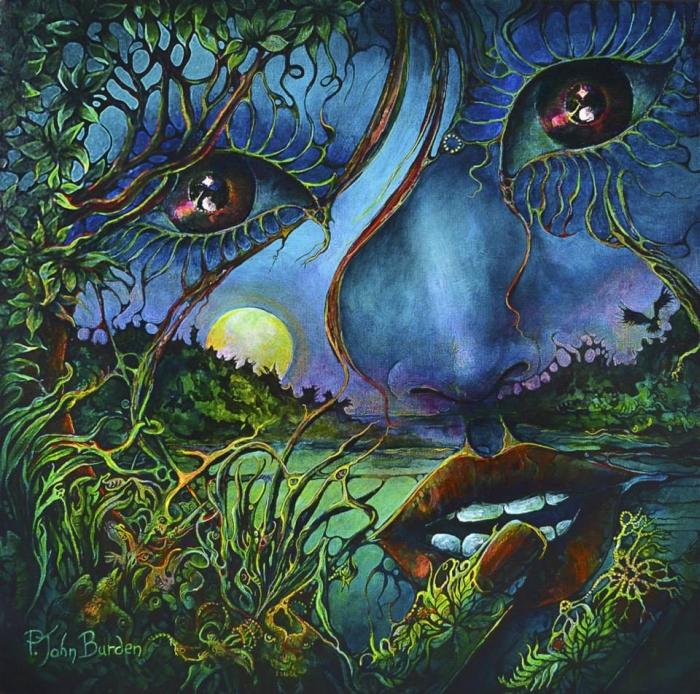 Символические и сюрреалистические картины. John Burden