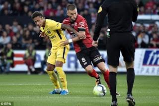 Neymar Antarkan PSG Menang 3-0 atas Guingamp