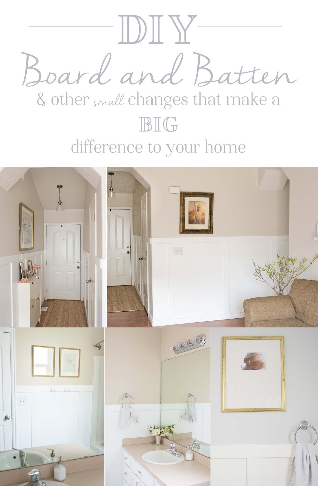 A Few of My Favorite Things: Living Room Redo- Board and ...