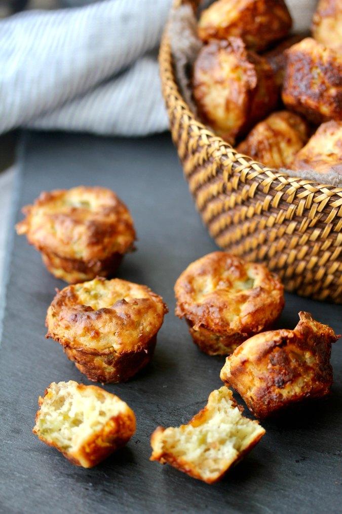 Jalapeño Cheddar Mini Muffin Appetizers