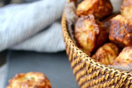 Jalapeño Cheddar Mini Muffin Appetizers | #MuffinMonday