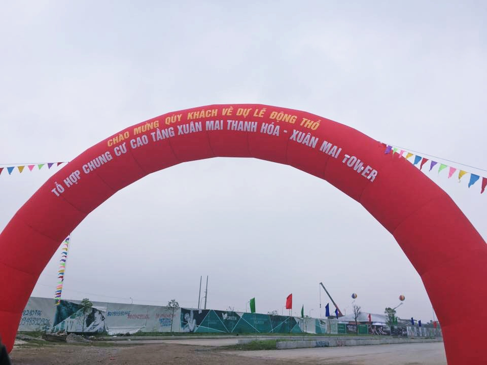 Lễ khởi công dự án chung cư Xuân Mai Thanh Hoá