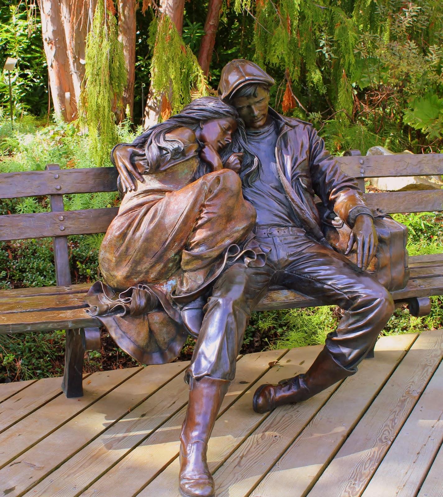 The Murray Chronicles Sleeping At Vandusen Gardens