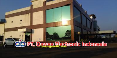 Lowongan Kerja PT. Dawee Electronic Indonesia Jababeka