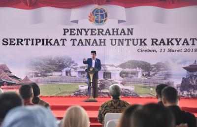 Presiden Jokowi: Kalau Tak Dibereskan, Masalah Sertifikat Selesai 140 Tahun Lagi - Info Presiden Jokowi Dan Pemerintah
