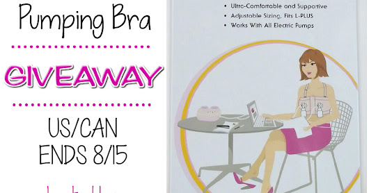 Simple Wishes Signature Hands Free Pumping Bra #Giveaway