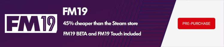 FM19 sale