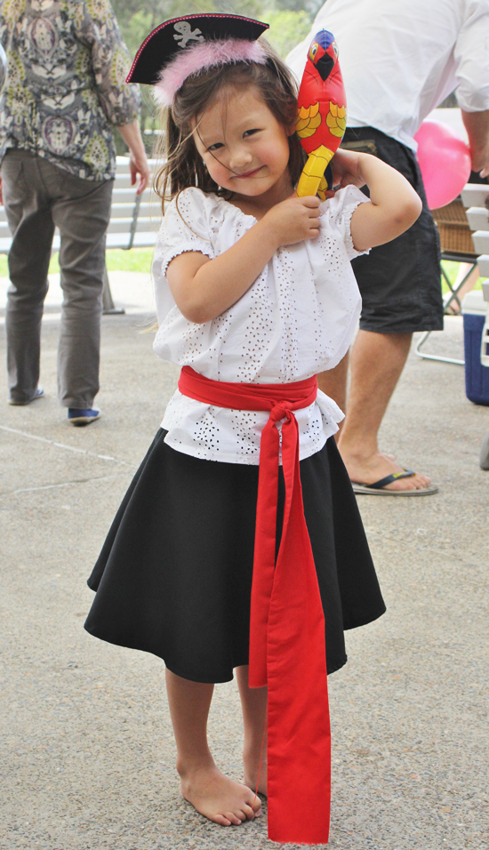 Diy Baby Girl Pirate Costume lower your pres...