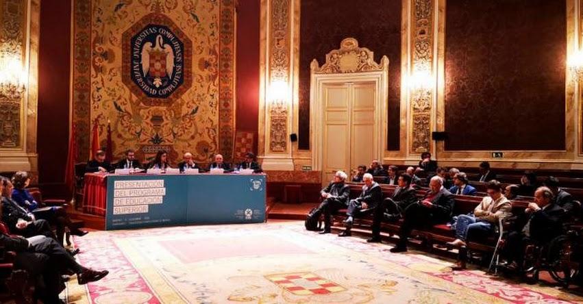 SUNEDU: Superintendente Martín Benavides presentó el Programa de Educación Superior de la OEI - www.sunedu.gob.pe