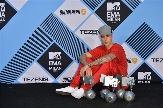 He could shine instead neatly at the MTV EMAs