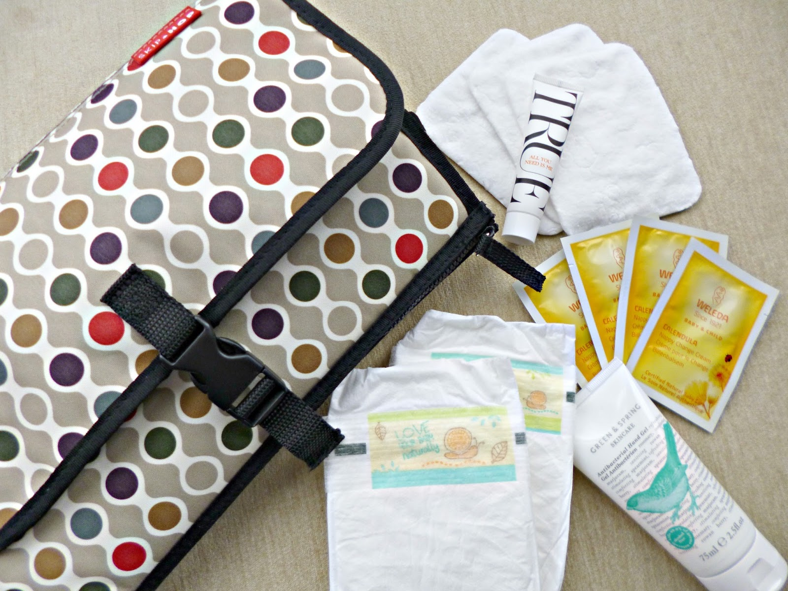 Greener baby: Change bag essentials
