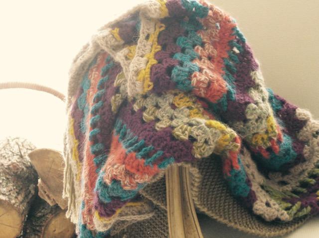 Bohemian shawl