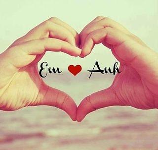 hình ảnh về tình yêu đẹp lãng mạn dễ thương, em yêu anh trái tim