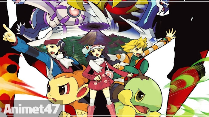 Ảnh trong phim Pokemon Diamon And Pearl Special 1