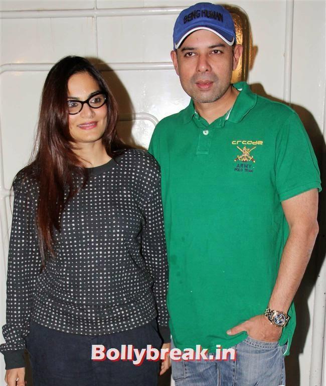 Alvira Agnihotri and Atul Agnihotri, Sarah Jane Dias, Salman Khan at Screening of O Teri