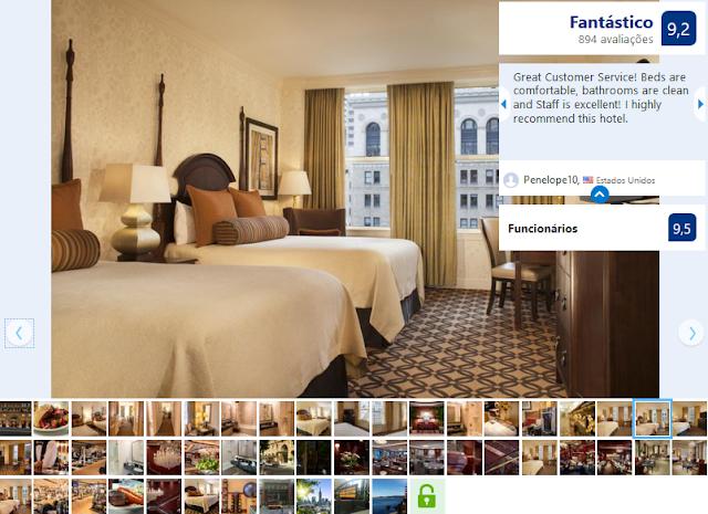 Hotel Omni para ficar em San Francisco