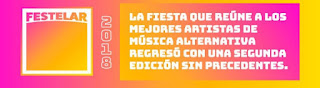 Festival FESTELAR 2 (2018) Poster 1