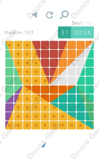 Cheats, Walkthrough for Blocks and Shapes Medium Level 183