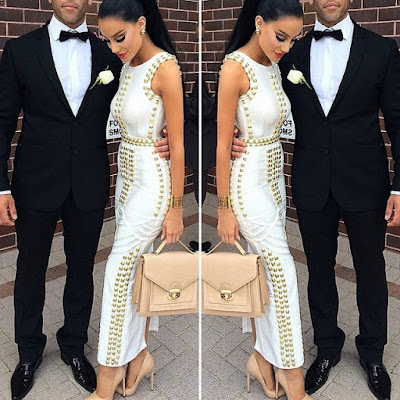 Fitted Long Prom Evening Bandage Dress
