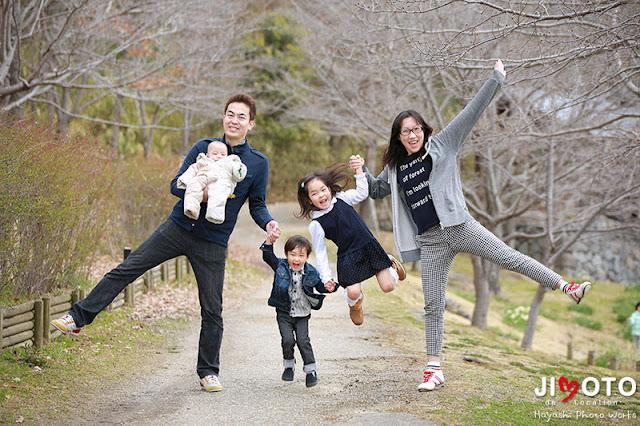 ご家族のロケーション撮影