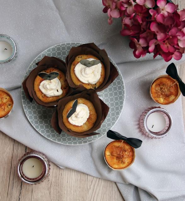 Leicht beschwipste Apfel-Cranberry-Muffins