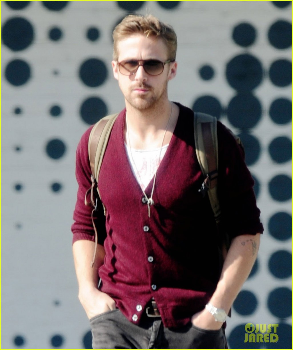 Celeb Diary: Ryan Gosling in Los Angeles