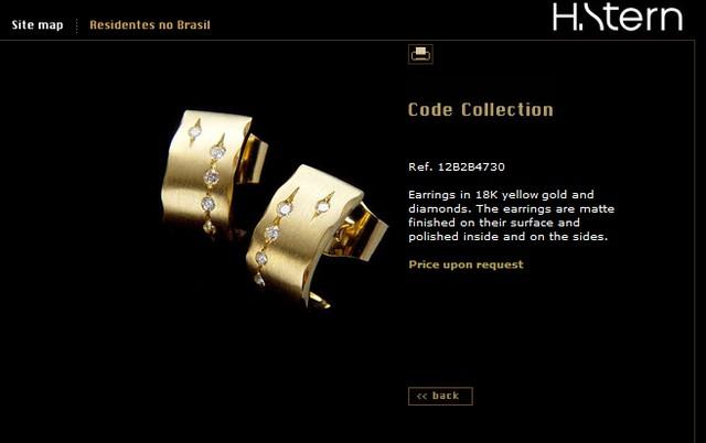 H. Stern Diamond Earrings