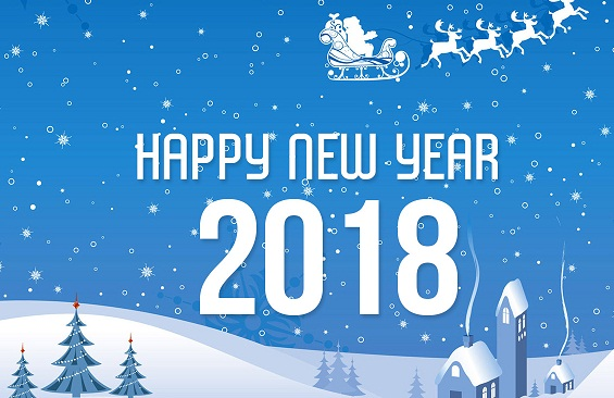 New Year 2018 Image