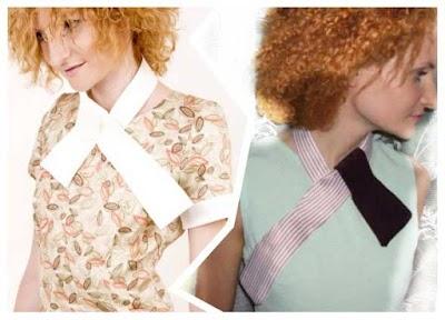 Personalizar vestidos y camisetas con lazos en el cuello de cintas