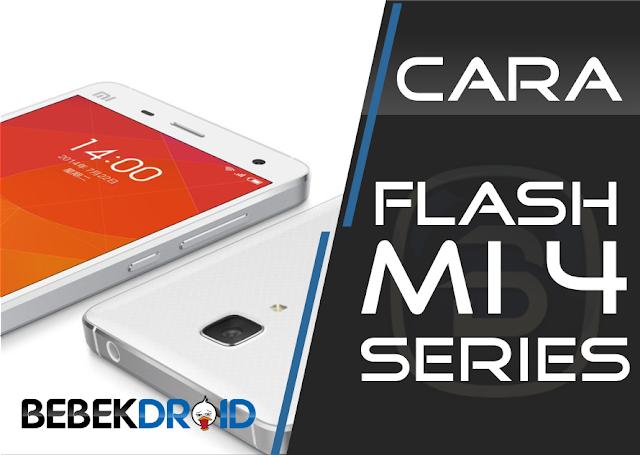 Cara Install ROM MIUI 9 di hp Xiaomi Mi 4, Mi 4c, dan Mi 4i Terbaru 2017