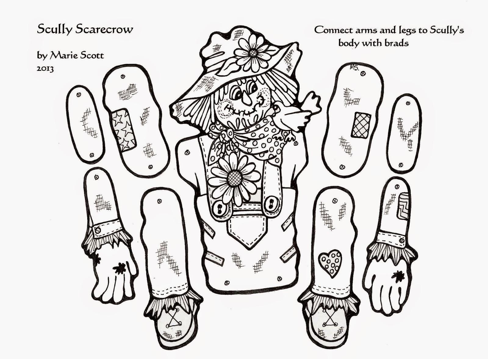 Serendipity Hollow Scarecrow Craft