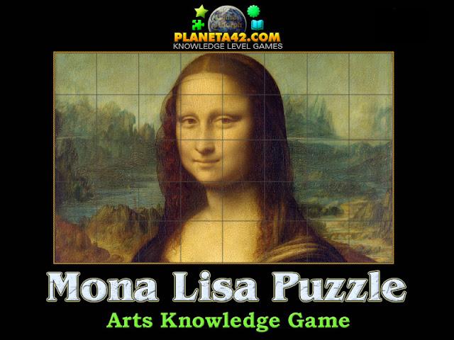 Изкуство с Игри - Пъзел на Мона Лиза