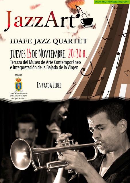 El ciclo JazzArTé vuelve a la terraza del Museo de Arte Contemporáneo con la actuación del quinteto Idafe Pérez Group