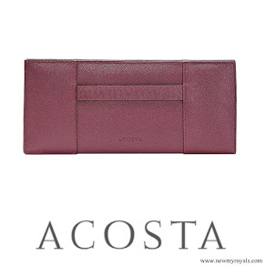 Queen Letizia style ACOSTA Clutch Bag