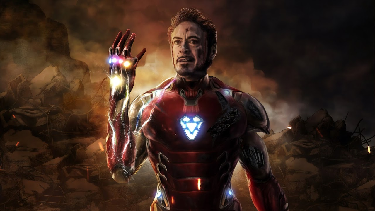 Avengers Endgame Iron Man Tony Stark Infinity Stones