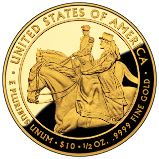 United States Gold Coins Julia Grant 10 Dollars First Spouse Gold Coin