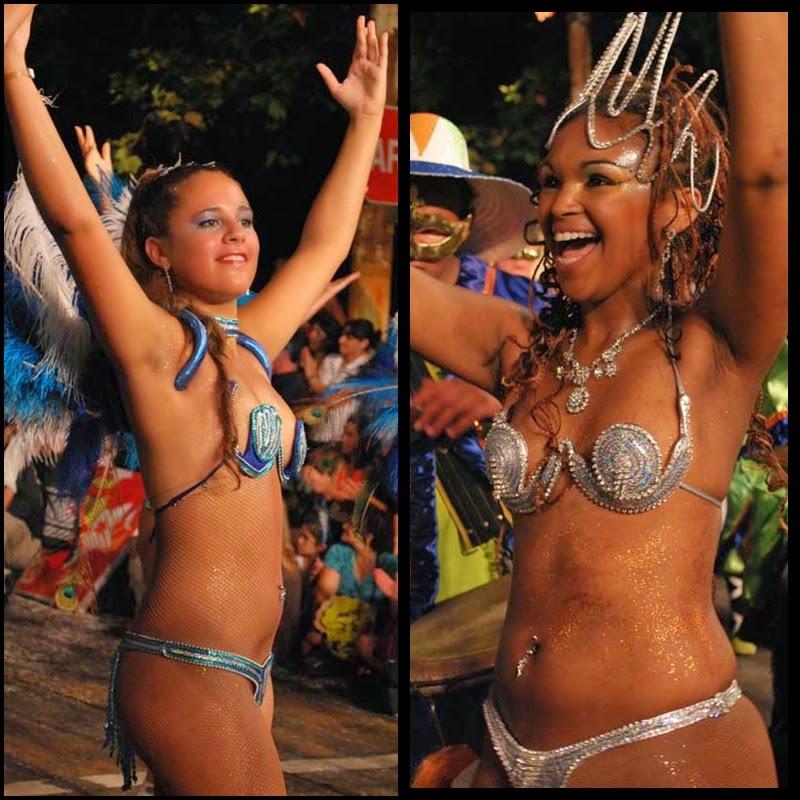 Carnaval. Desfile de Llamadas. Montevideo.La Figari. 2010.