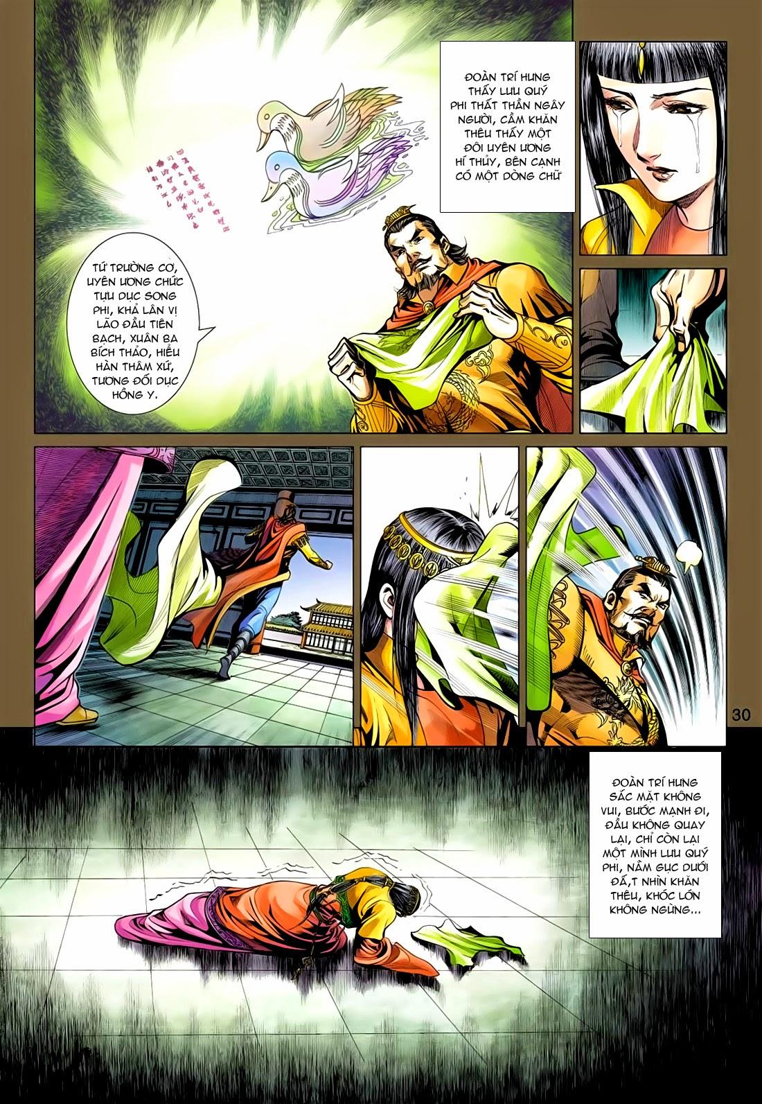 Anh Hùng Xạ Điêu anh hùng xạ đêu chap 77: thế thượng tối cường võ công trang 30