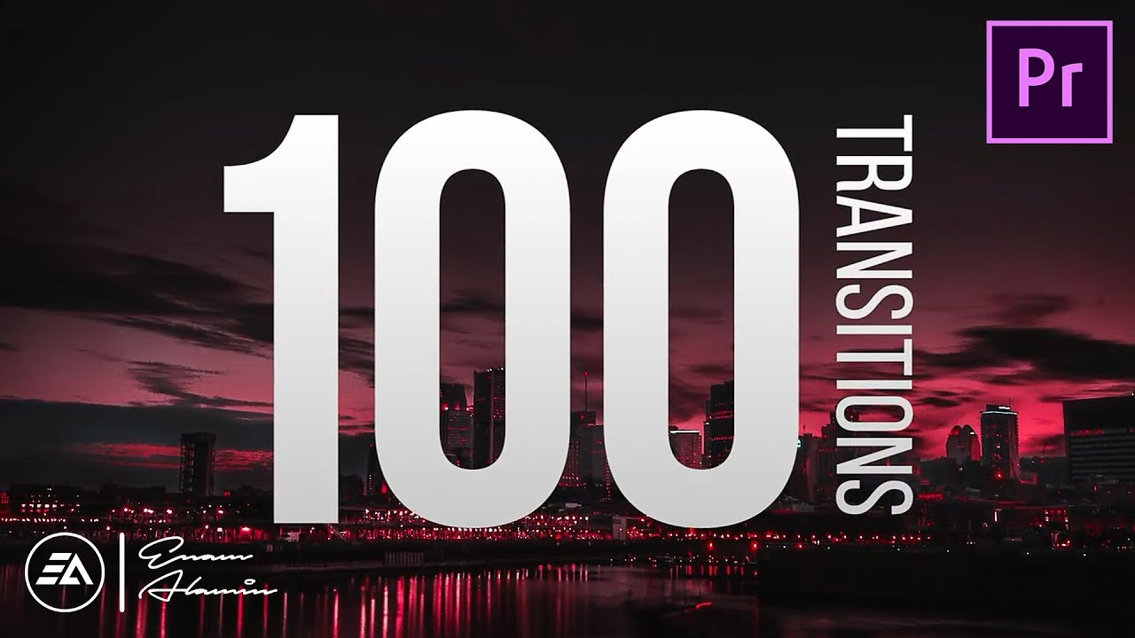 Premiere Pro Transitions Pack FREE Download - 100