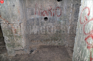 'Форт' Слуцкого укрепрайона. Бункер №19. Наскальные надписи предков