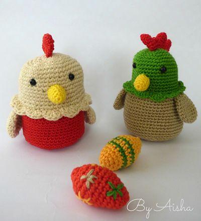 #calblas gallina amigurumi