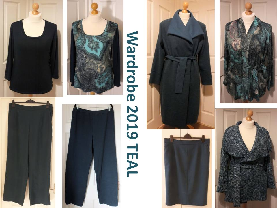 Teal Winter Collection
