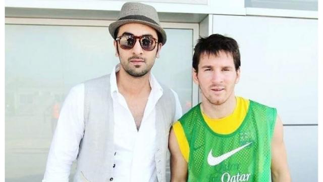 Throwback Time: When Ranbir met footballer Lionel Messi