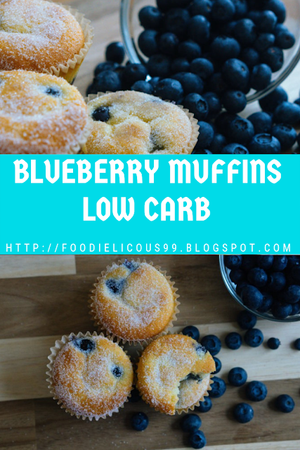 BLUEBERRY MUFFINS LOW CARB