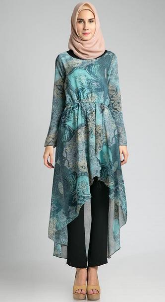 Gambar Model Baju Muslim Kebaya untuk Pesta