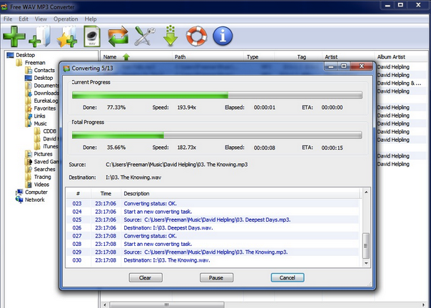 Download Free WAV to MP3 Converter Offline Installer setup