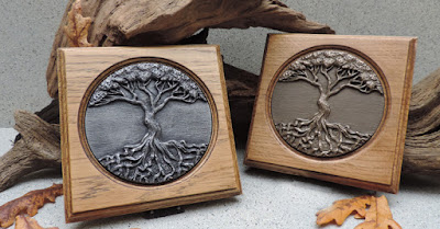 Tree Of Life Wall Plaque by Justbod