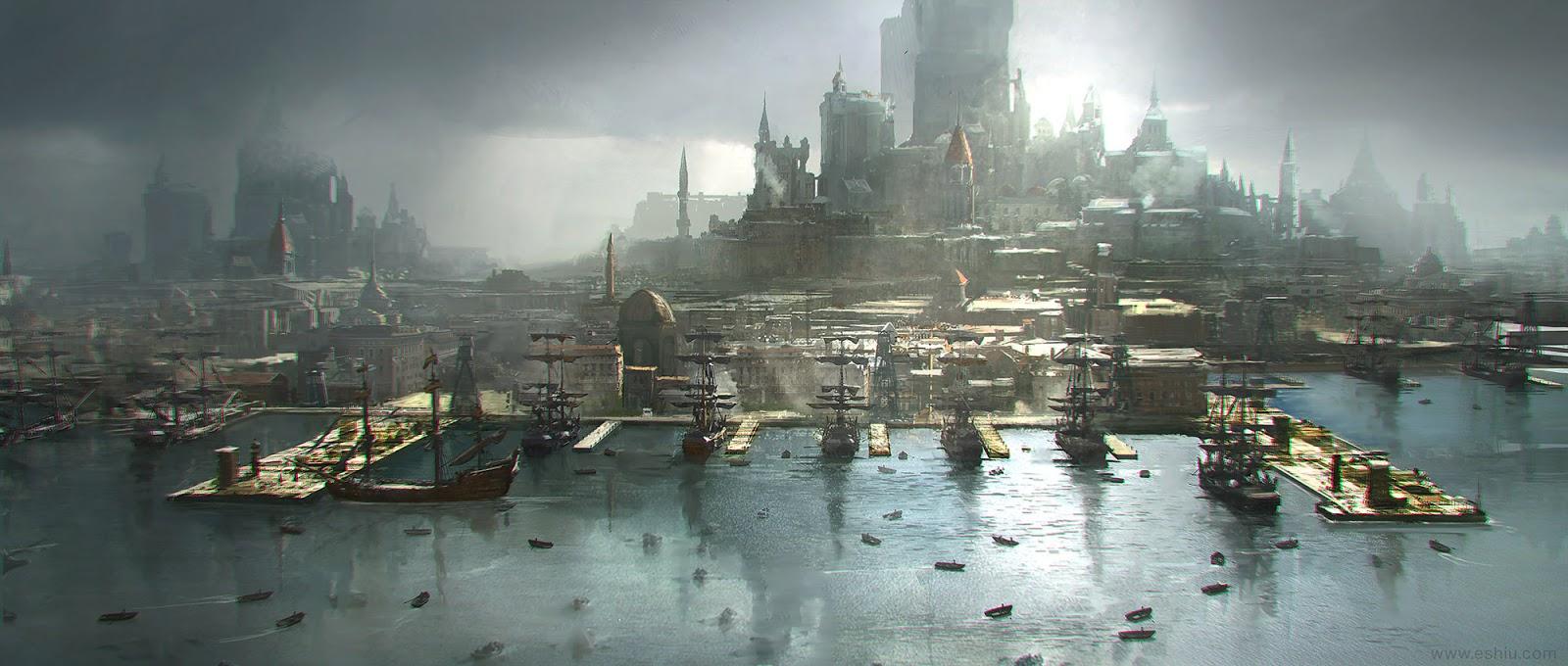 Фантастические миры Emmanuel Shiu