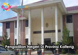 Alamat Pengadilan Negeri Di Kalimantan Tengah
