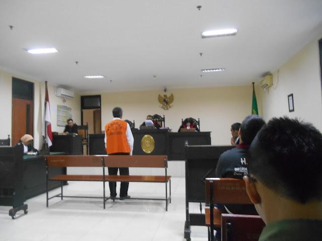 sidang kasus PT Merapi Mas Abadi